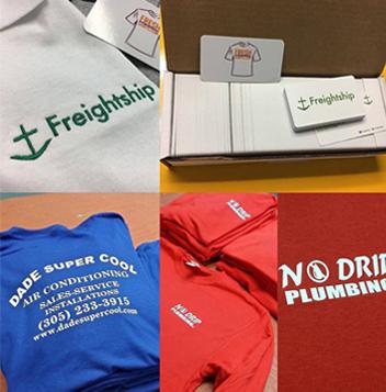 fresh pressed shirts